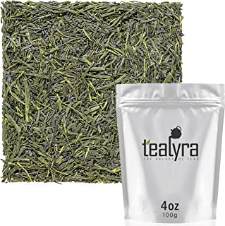 Tealyra - Sencha Tenkaichi Japanese Green Tea - Handmade Premium 1st Flush - Organically Grown in Japan - Loose Leaf Tea -...