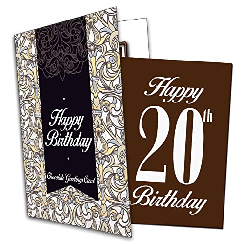 20th Birthday Card Amazoncouk