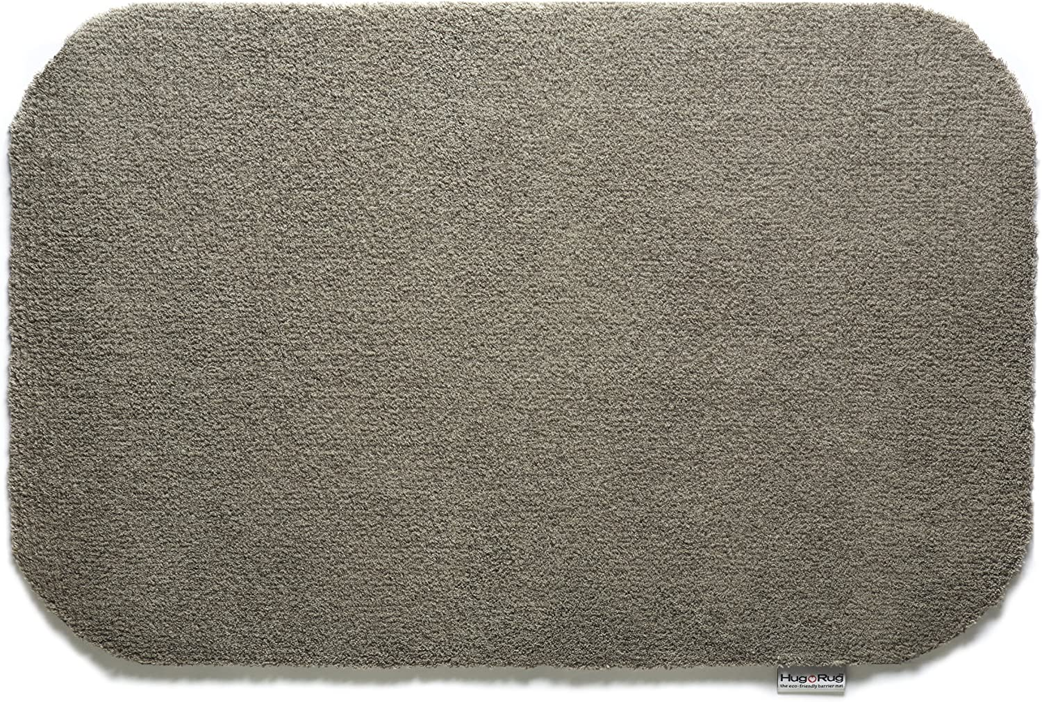 Bosmere Hug Rug Eco-Friendly Absorbent Dirt Trapping Indoor Washable Mat, 19.5  x 29.5 , Mocha