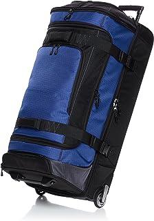 Amazon Basics Dipel à roulettes Ripstop, 88 cm, 113.1 litres, Bleu