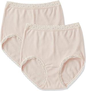 (2Pショーツ)2P shorts 【福助】 婦人肌着 2P W保湿ショーツ スタンダード