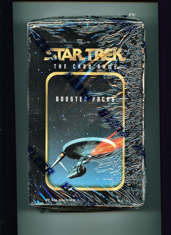 orden ahora disfrutar de gran descuento Estrella Trek The Coched Juego Booster Pack Box Box Box  las mejores marcas venden barato
