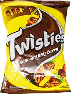 Twisties Corn Snack, BBQ Curry, 65.00 g