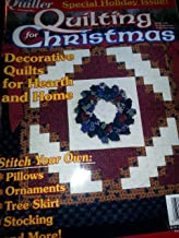{Quilting} Traditional Quilter {Presents} Quilting for Christmas: Special Holiday Issue! -Decorative Quilts for Hearth and Home {Winter 2000} +++Special Christmas Edition+++