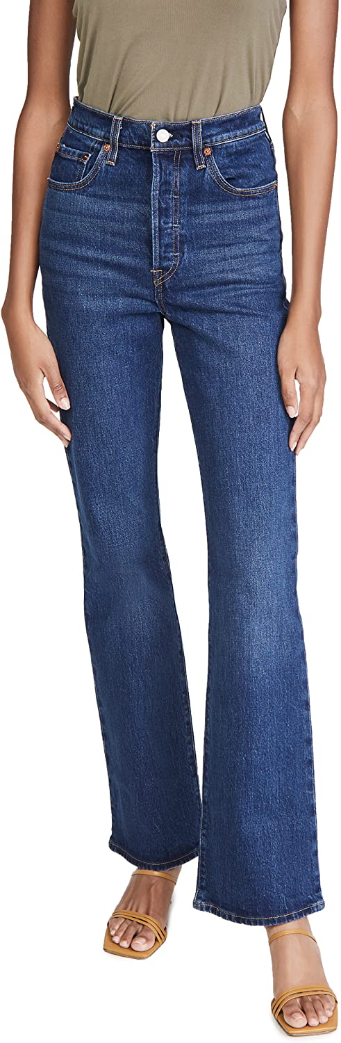 Levi's Women's Ribcage Jeans Boot Max 81% Lowest price challenge OFF