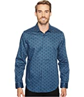 Calvin Klein - Multicolor Shatter Print Button Down Shirt