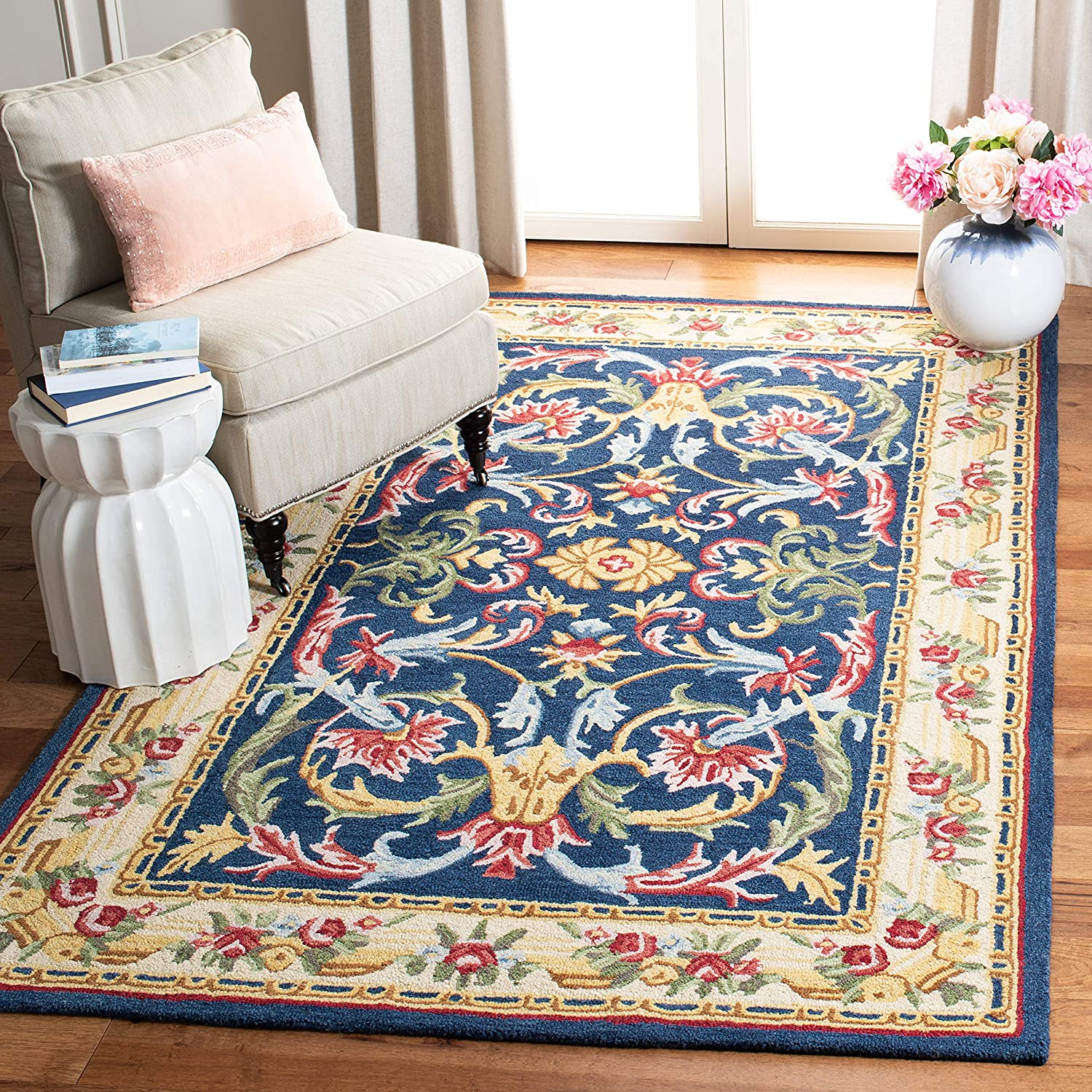 Safavieh Heritage Max 52% OFF Cheap SALE Start Collection HG657N Traditional Handmade Orienta