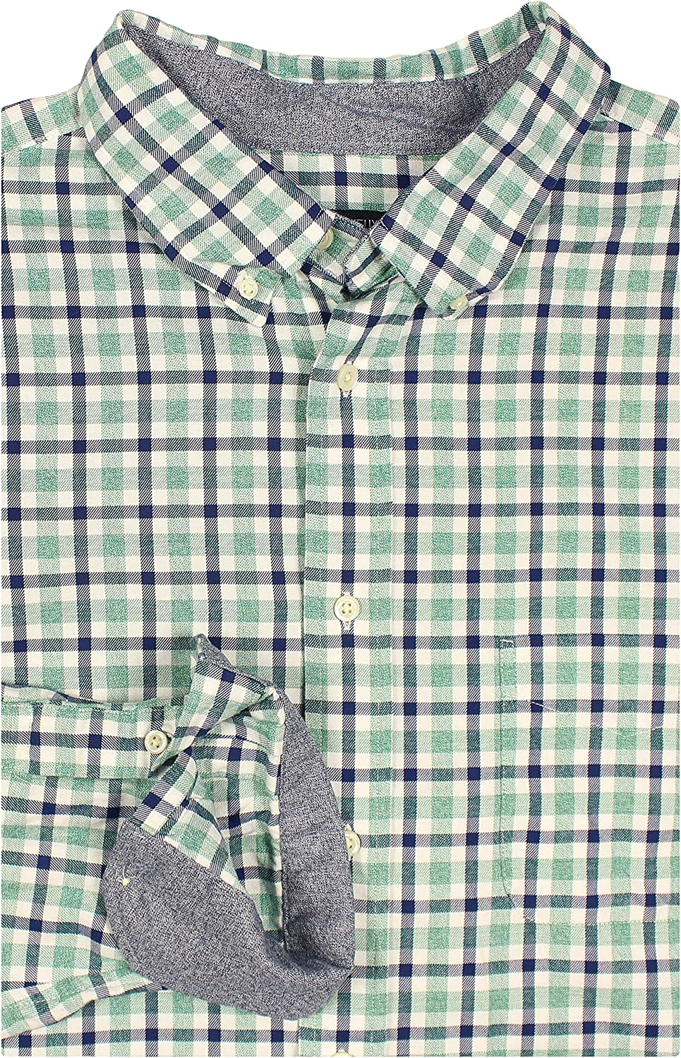 Cremieux Men's Big and Tall Super Soft Garment-Washed Long Sleeve Shirt