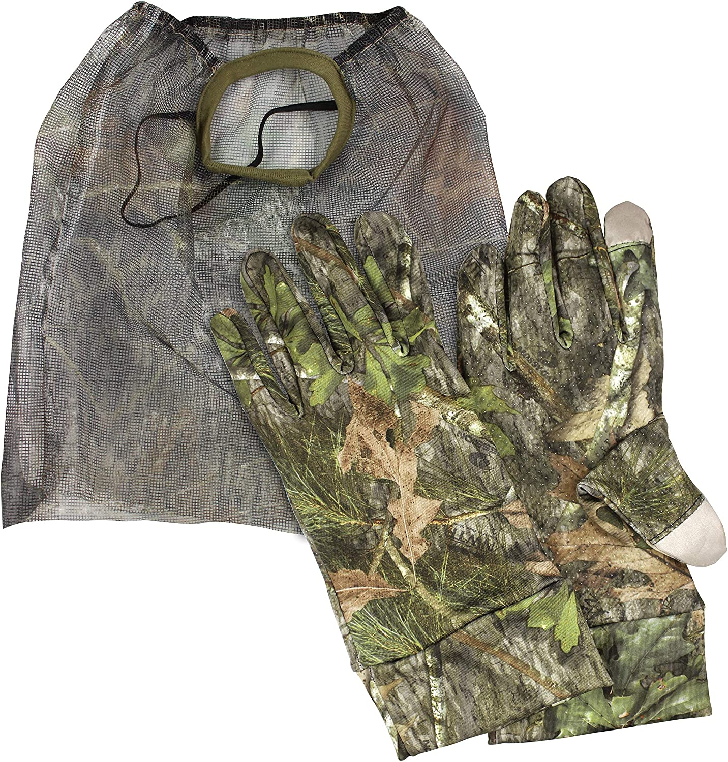 The Grind Direct sale of manufacturer Mossy Oak Obsession Turkey Face and Gloves Combo Ranking TOP9 Mask