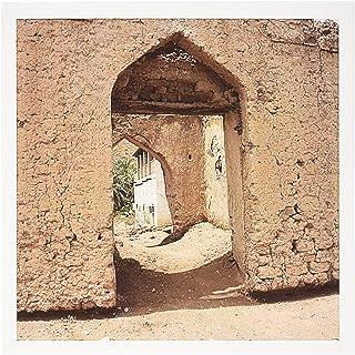 3dRose Gc_164783_2 - Tarjetas de felicitación, diseño de puerta en la calle del vecindario, Muscat, Omán Foto por Rhonda Albom – Tarjetas de felicitación, 15,2 x 15,2 cm, juego de 12