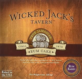 Wicked Jack's Tavern Rum Raisin Cake, 20 Ounce