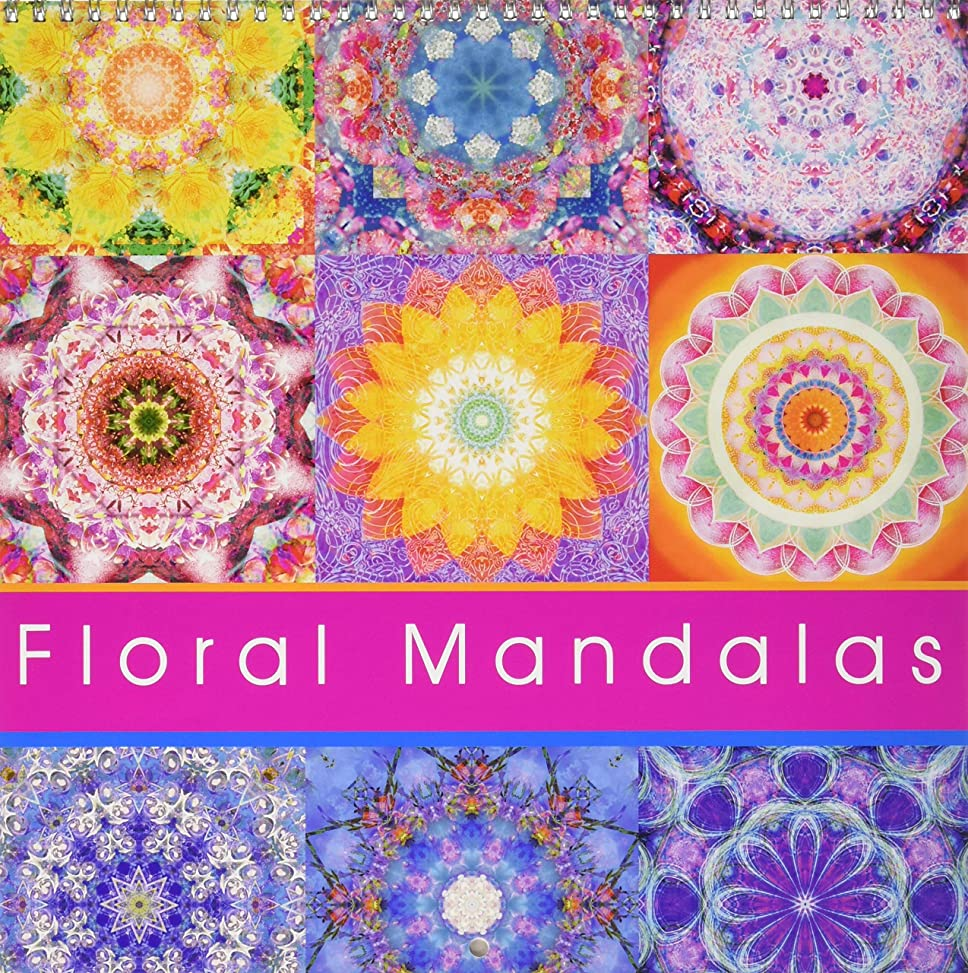 熱帯の伸ばすスキッパーFloral Mandala 2016: Energetic Mandalas from flower photographs (Calvendo Faith)