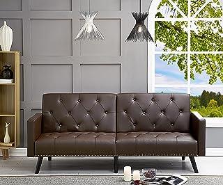 Amazon.com: Vinyl - Sofas & Couches / Living Room Furniture ...
