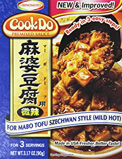 Ajinomoto Cook Do Mabo Tofu Szechwan Style (Mild Hot), 3.17 Ounce
