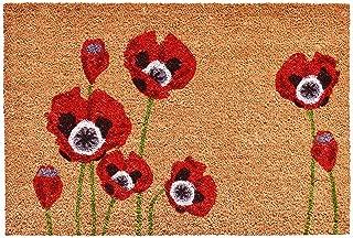 Calloway Mills 104032436 Red Poppies Doormat, 24