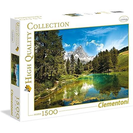 Clementoni - 31680 - Puzzle - High Quality Collection - Bleu Lake - 1500 Pièces