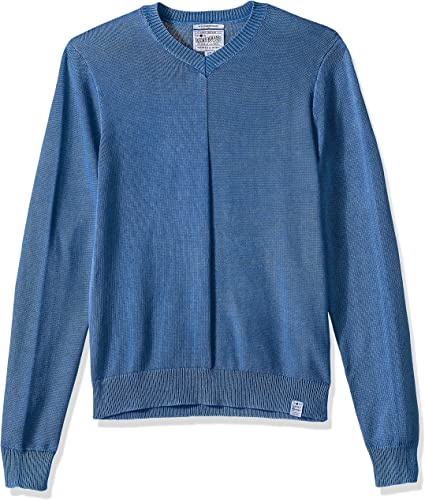 Lucky Brand Hommes's Washed V Neck chandail, LIMONGES, XL