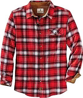 Legendary Whitetails Men's Buck Camp Flannel Shirt Long Sleeve
