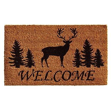 Home & More 121681729 Elk Forest Welcome Doormat 17  X 29