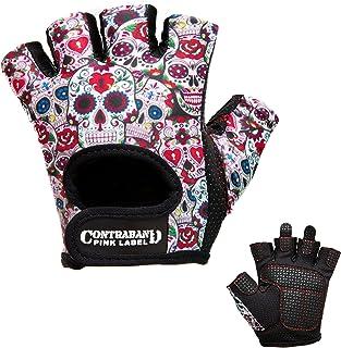 1a995fbd46 Contraband Pink Label 5237 Womens Design Series Sugar Skull Lifting Gloves  (Pair)