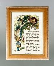 BiblioArt Series ジョン・テニエル「不思議の国のアリス<チシャネコ>」 額装品