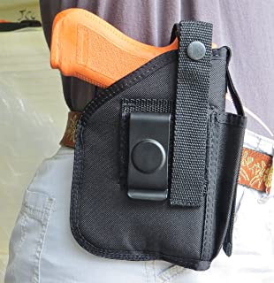 Hip Holster for Glock 19, 23 & 32 with Underbarrel Tactical Flashlight