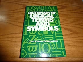 Dictionary of Logical Terms and Symbols
