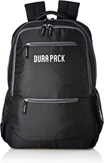 DURAPACK Neo 26 Ltrs Double Black Casual Backpack (N1DBLK)