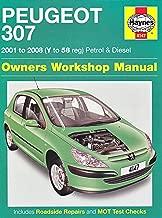 Peugeot 307 Petrol and Diesel Owners Workshop Manual: 2001 to 2008 (Haynes Service and Repair Manuals) by Martynn Randall (12-Sep-2014) Hardcover