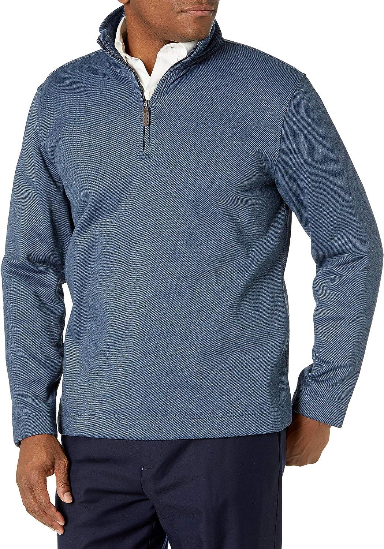 Van Heusen Men's Long Sleeve 1/4 Zip Soft Fleece