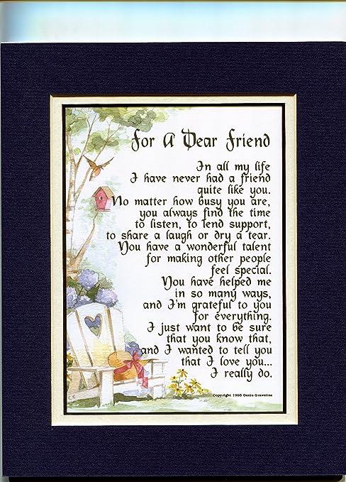 Beautiful poem my to friend 44 Best