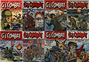 G I Joe 8 Comic Combo. Featuring Military, war, battles and soldiers. 8 Comic collection charlton. (Military and war eight comic collections Book 1)