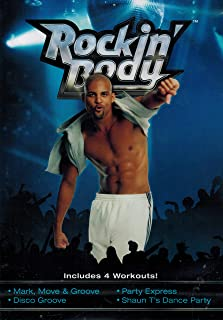 Rockin' Body: Includes 4 Workouts! (Mark Move & Groove, Disco Groove, Party Express, Shaun T's Dance Party)