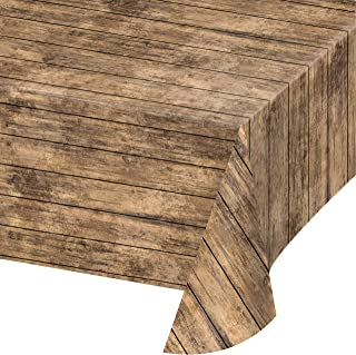 Best tablecloths that look like wood Reviews