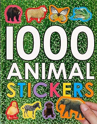 1000 Animal Stickers: 1000 Books