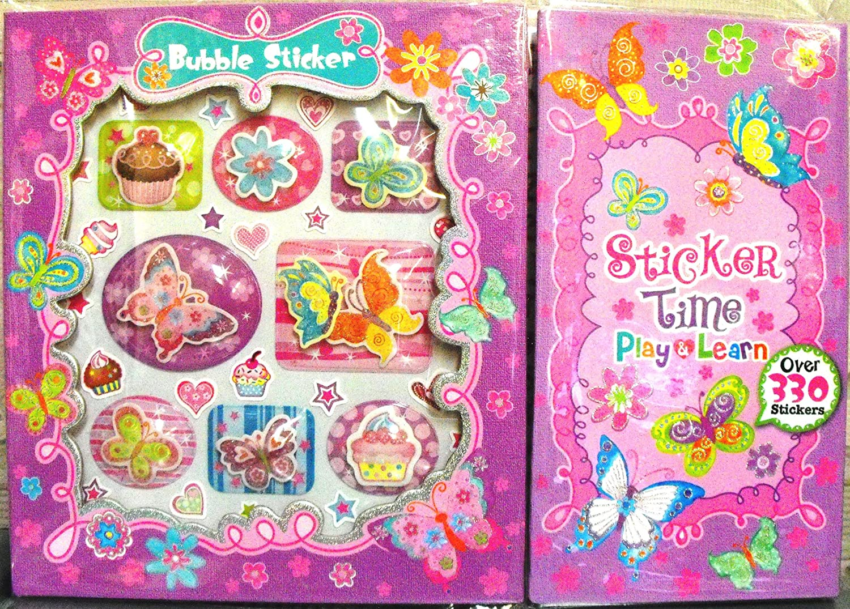 Hot Focus Inc. Sticker Time Fun Set (Butterfly)