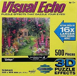 Visual Echo 3D Effect The Cottage 3D Lenticular Puzzle 500pc S4