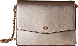 Tory Burch Robinson Metallic Shoulder Bag