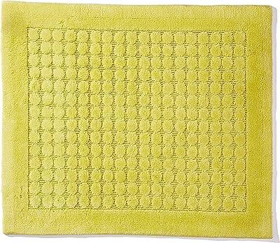 Spirella Textile Rug Dots, Lime, 55 x 65, 1212262, White, Standard