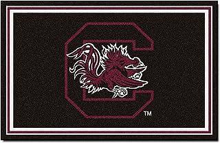 FANMATS NCAA University of South Carolina Game Nylon Face 4X6 Plush Rug