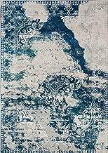 (blue, 0.9mx1.5m) - Momeni Loft Medallion Area Rug