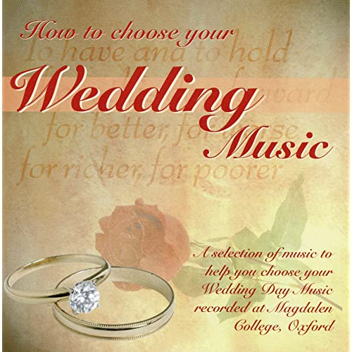 How to Choose Your Wedding Music by Martin Souter on Amazon Music
