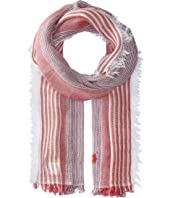 Polo Ralph Lauren Classic Linen Stripe Scarf