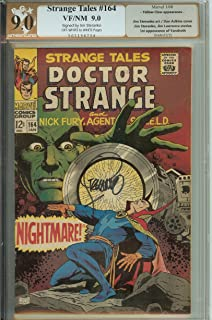 Autograph Strange Tales #164 VF- Signed by Jim Steranko PGX 9.0 (like CGC)