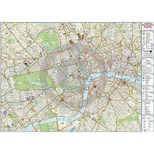 Www Map Of London.Map Of London Amazon Co Uk
