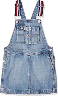 Tommy Hilfiger Girl's Dungaree Dress Lbbr Dress