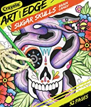 Crayola Sugar Skulls Coloring Book, Volume 3, Teen Coloring, 32 Pages