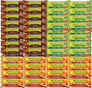 Natures Valley Granola Bars 49 Count - Care Packages, Snacks Food Gift Basket for Adults, Men , Women , Offices, College S...