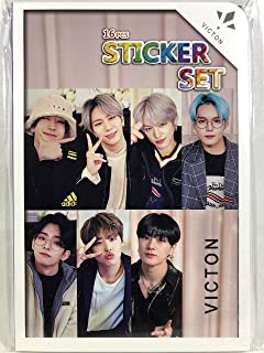 VICTON ビクトン ヴィクトン グッズ / フォト ステッカー シール 87枚(16シート)セット - Photo Sticker 87pcs(16sheets) [Tra...