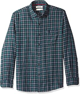 Amazon Brand - Goodthreads Men's Standard-Fit Long-Sleeve Heather Flannel Shirt